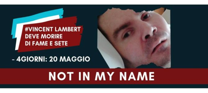 Lambert Vincent ha diritto di vivere